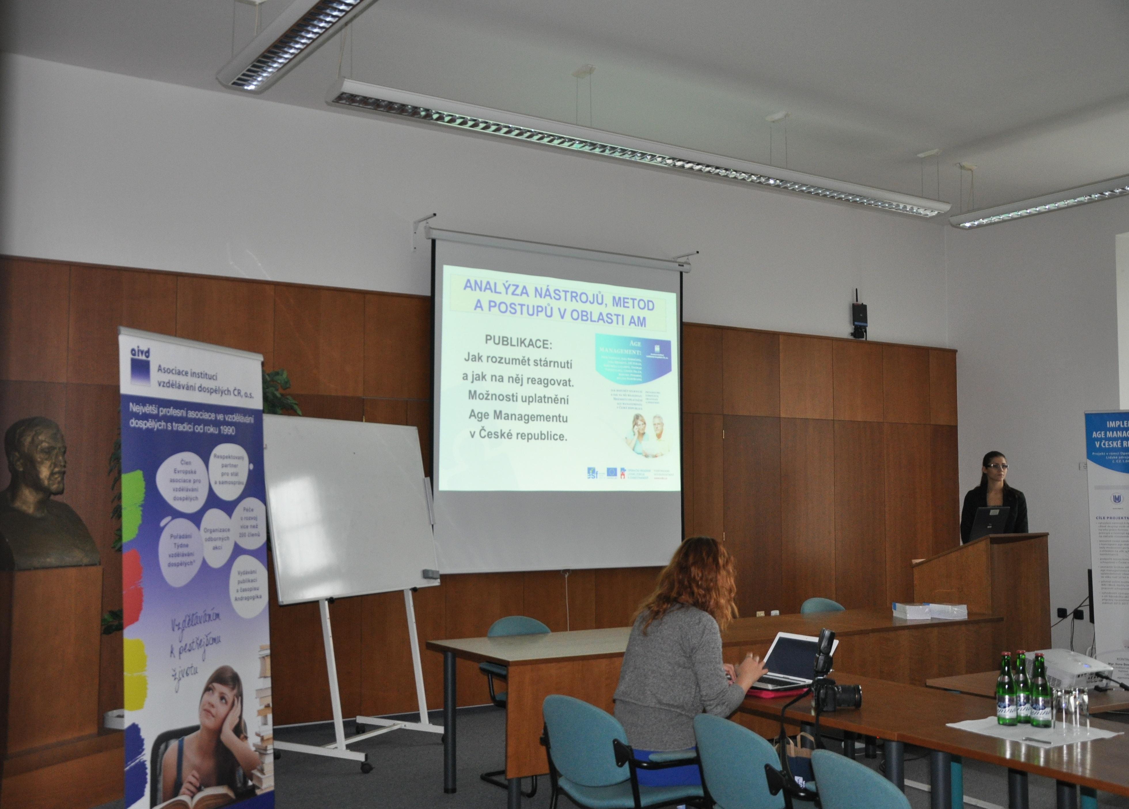 """Tisková konference k projektu """"Implementace Age Managementu v České republice"""""""