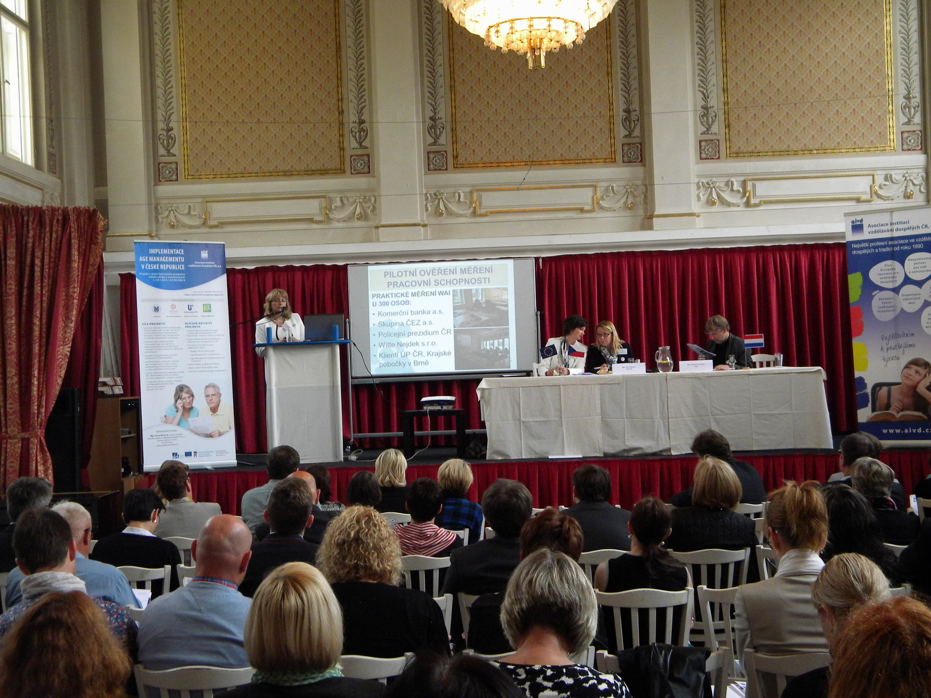 Tiskové zprávy z mezinárodní konference projektu Implementace Age Managementu v České republice