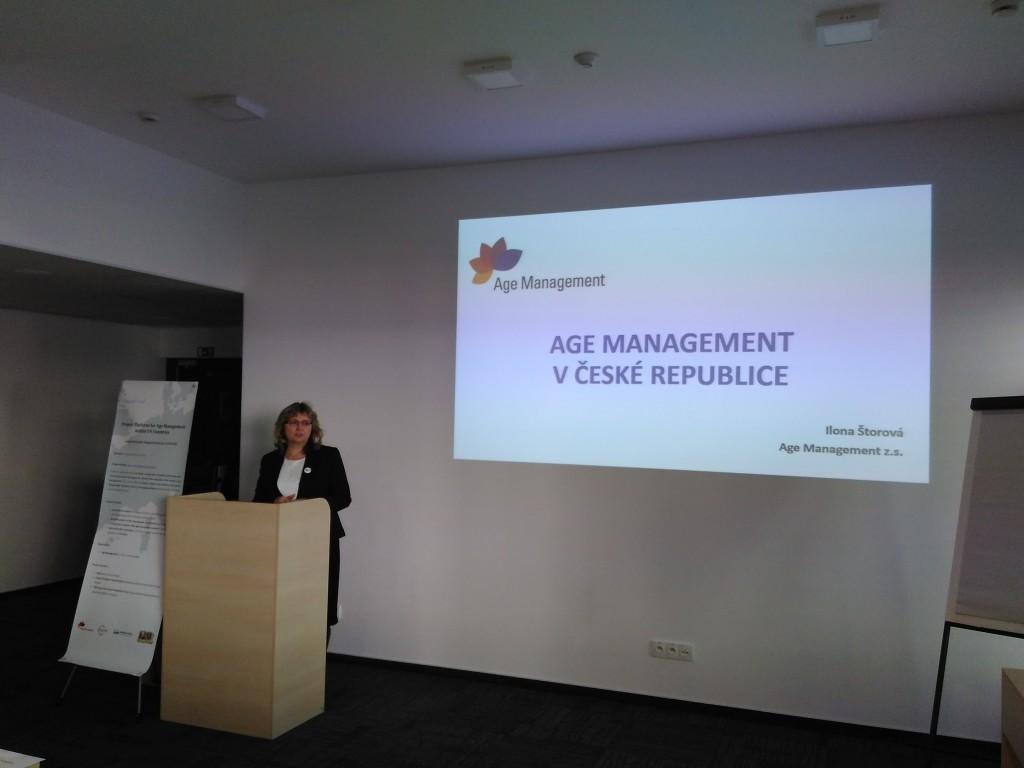 Mgr. Ilona Štorová - Age management z.s. (CZ)